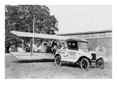 Ford Towing Plane