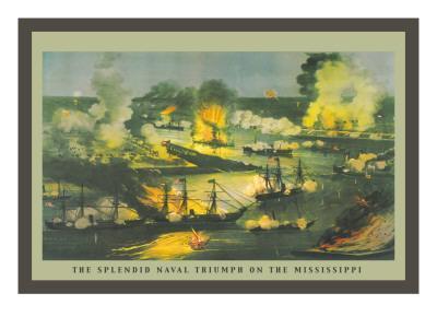 The Splendid Naval Triumph on the Mississippi
