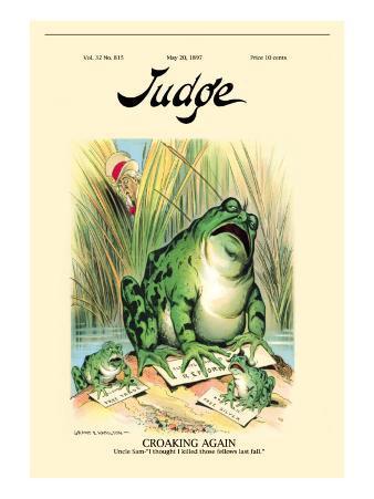 Judge Magazine: Croaking Again