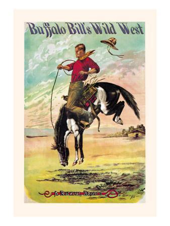 Buffalo Bill: A Bucking Bronco