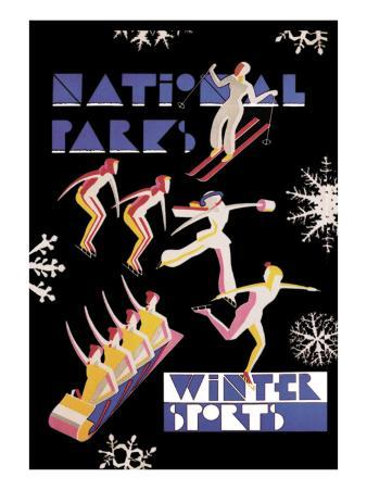 National Park's Winter Sports