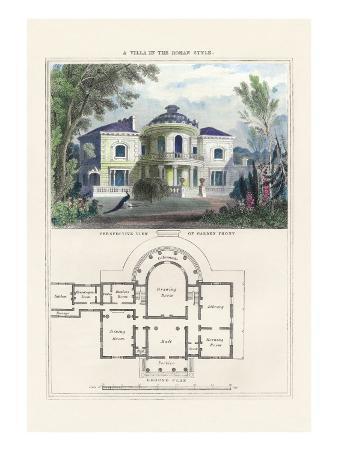Villa in the Roman Style