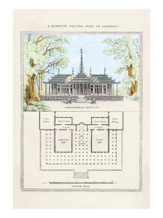Burmese Palatial Hall of Assembly