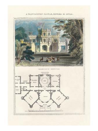 Plantagenet Castle, Edward III Style