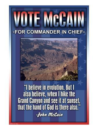 McCain on Evolution