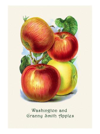 Washington and Granny Smith Apples