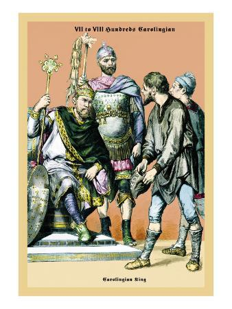 Carolingian King, 8th Century B.C.