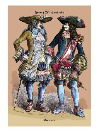 French Cavaliers, 18th Century