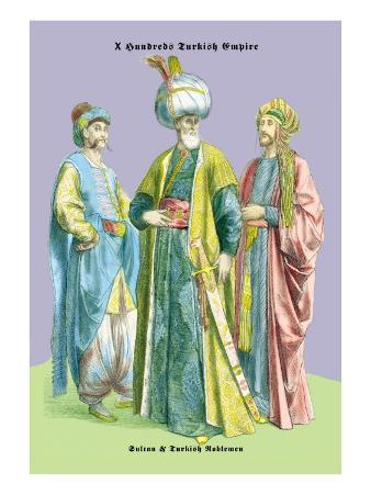 Turkish Noblemen and Sultan, 11th Century