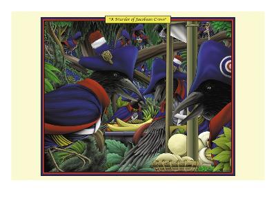 A Murder of Jacobean Crows