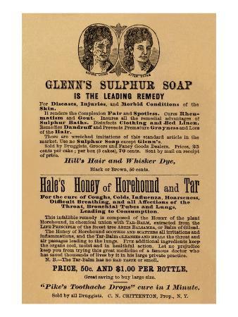 Glenn's Sulphur Soap Is The Leading Remedy