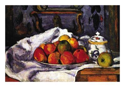 Still Life Bowl of Apples