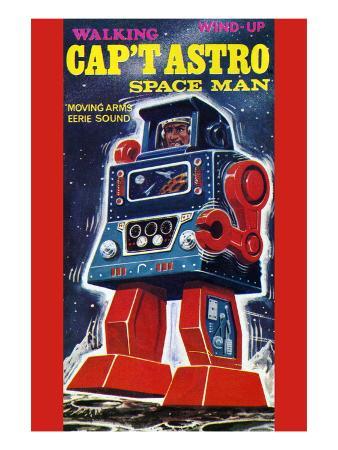 Cap't Astro Space Man