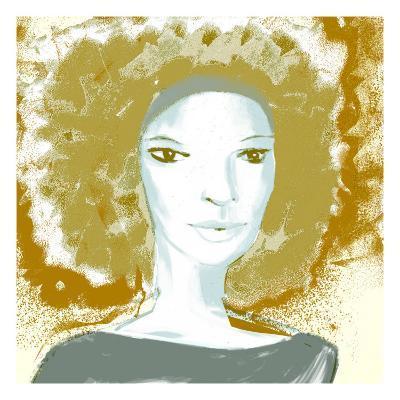 Female Portrait Color Series, No.3