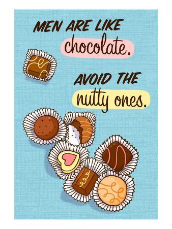 Men are Like Chocolate