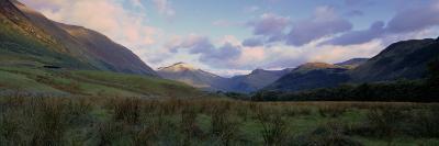 Mountains on a Landscape, Glen Nevis, Scotland, United Kingdom