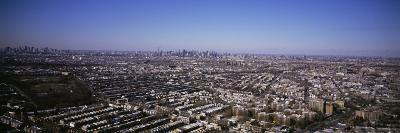 Aerial View Queens, from Queens Looking Towards Manhattan, New York City, New York State, USA
