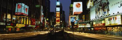 Shopping Malls in a City, Times Square, Manhattan, New York, USA