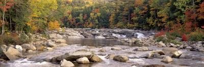 River Flowing through the Wilderness, White Mountains National Forest, New Hampshire, USA