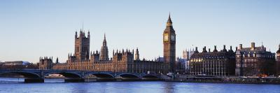 Big Ben, Houses of Parliament, Thames River, Westminster Bridge, London, England