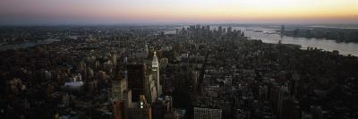 Aerial View of Lower Manhattan and Financial District, Manhattan, New York City, New York