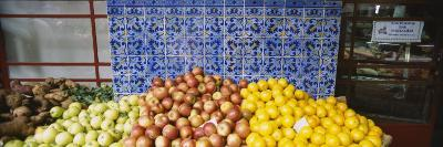 Fruits and Vegetables in a Market, Funchal, Madeira, Portugal
