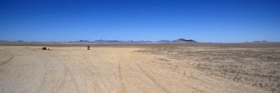 Lonely Picnic Spot in the Desert, Namibia