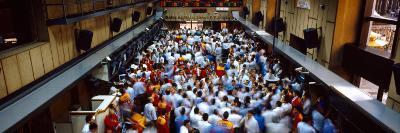Bovespa Stock Market Exchange Trading Sao Paulo Brazil