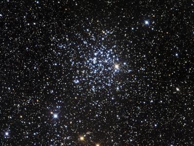 Messier 52, Also Known as NGC 7654, is an Open Cluster in the Cassiopeia Constellation