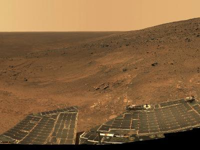 September 1, 2005, Panoramic View of Mars Taken from the Mars Exploration Rover