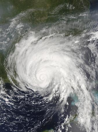 July 10, 2005 at 16:15 UTC, Hurricane Dennis off United States Gulf Coast