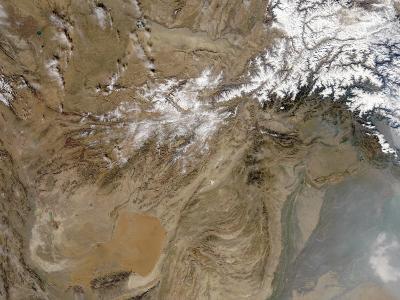 December 26, 2005, Satellite View of Afghanistan