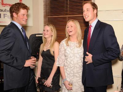 Princes William and Harry honour a childhood friend who died as a teenager by becoming patrons of a