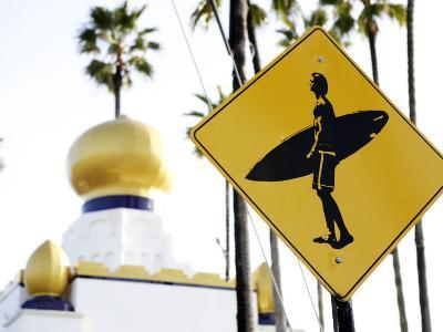 Sign at Swami's Surf Spot, Encinitas
