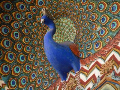 Peacock Gate in Pitam Niwas Chowk at City Palace