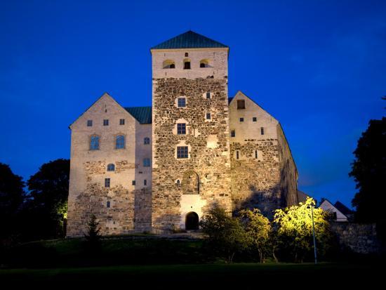 Turku Castle At Night Photographic Print By Manfred Gottschalk At