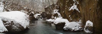 Winter and Snow at Tarumae Gorge