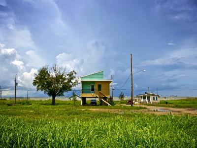 New Home, Built after Hurricane Katrina, in the Lower Ninth Ward