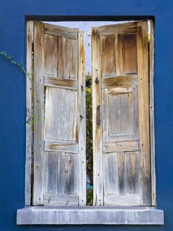 Wooden Shutters, El Presidio Historic District