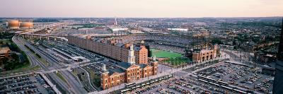 Aerial View of a Baseball Field, Baltimore, Maryland