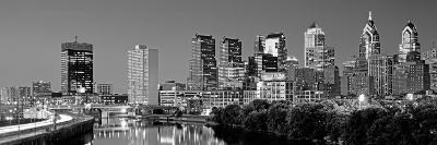 Philadelphia Skyline, Night