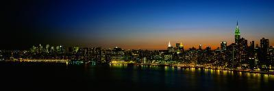 View of Manhattan From Long Island, New York City