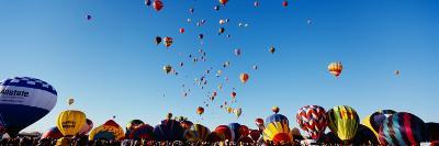 Hot Air Balloons at the International Balloon Festival, Albuquerque, New Mexico