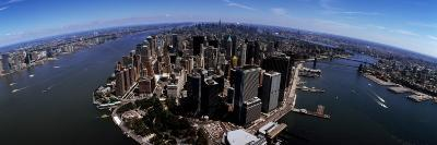 Aerial View of a City, New York City, New York State