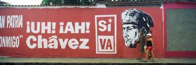 Mural On a Wall, Rio Caribe, Carupano, Sucre State, Venezuela