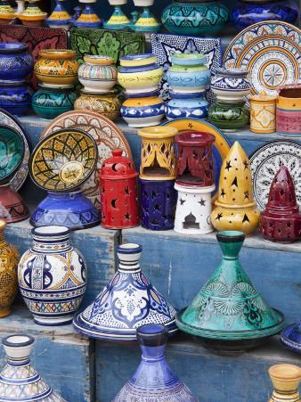 Pottery, Essaouira, Morocco
