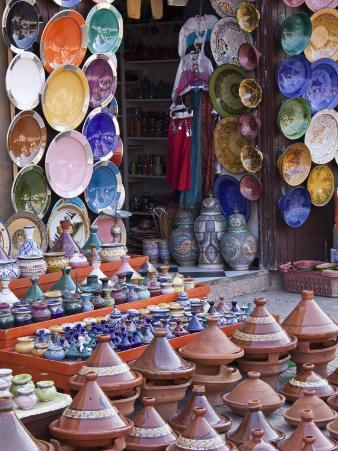 Pottery Shop, Marrakech, Morocco