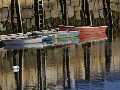 Boat in Harbor, Cape Ann, Rockport, Massachusetts, USA