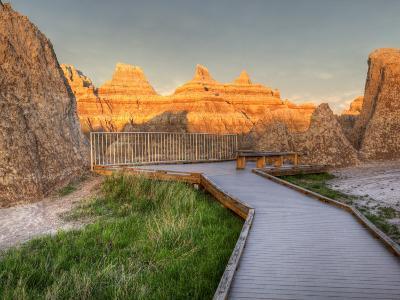 Northeast Entrance, Badlands National Park, South Dakota, USA