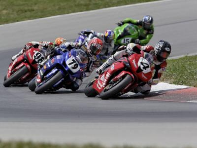 Ama Superbike Race, Mid Ohio Raceway, Ohio, USA